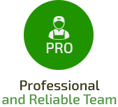 Professional, Insured & Reliable Cleaning Team
